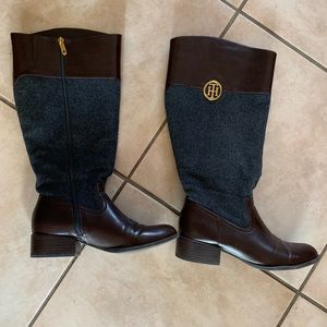 Amazing Tommy Hilfiger boots